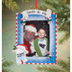 Personalized Santa & Me Frame Ornament Plain, One Size