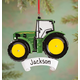 Personalized John Deere Tractor Ornament, One Size