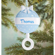 Personalized Baby Rattle Ornament, One Size