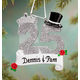 Personalized 25Th Anniversary Ornament, One Size