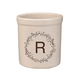 Personalized Monogram Wreath Stoneware Crock, 2 Qt., One Size