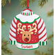 Personalized Ugly Sweater Ornament Plain, One Size
