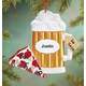 Personalized Beer For Santa Ornament, One Size