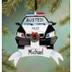 Personalized Police Car Ornament, One Size