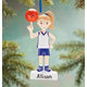 Personalized Basketball Player Ornament, One Size