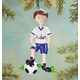Personalized Soccer Player Ornament, One Size