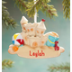 Personalized Sandcastle Ornament, One Size