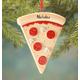 Personalized Pizza Slice Ornament, One Size