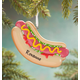 Personalized Hot Dog Ornament, One Size