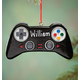Personalized Video Game Controller Ornament, One Size