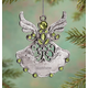 Personalized Birthstone Angel Pewter Ornament, One Size