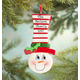 Personalized Snowman Ornament, One Size