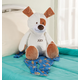Personalized Stuffed Animal Puppy Treasure Keeper, One Size