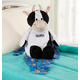 Personalized Stuffed Cow, One Size