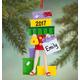 Personalized Shopoholic Ornament Plain, One Size