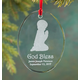 Personalized Glass Praying Child Ornament Boy, One Size