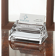 Personalized Clearylic Business Card Holder With Pad, One Size