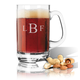 Personalized Acrylic Beer Mug With Times Monogram, One Size