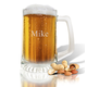 Personalized Sport Beer Mug With Name, One Size