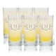 Personalized High Ball Glass Set Of 6 With Antler Initial, One Size