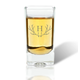 Personalized Shot Class With Antler Initial, One Size
