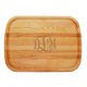 Personalized Large Cutting Board With Times Monogram, One Size