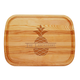 Personalized Large Cutting Board With Bold Pineapple Design, One Size