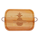 Personalized Large Handled Cutting Board With Pineapple Desi, One Size
