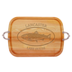 Personalized Large Handled Cutting Board With Trout Design, One Size