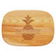 Personalized Medium Cutting Board With Pineapple Design, One Size