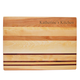 Personalized Striped Cutting Board With Name, One Size