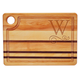 Personalized Striped Rectangle Cutting Board Scroll Initial, One Size