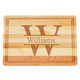 Personalized Medium Block Cutting Board With Times Name, One Size