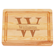 Personalized Small Block Cutting Board With Times Name, One Size