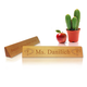 Personalized Teacher's Desk Name Plaque - Art Design, One Size