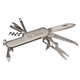 Personalized Brushed Silver Pocket Knife With Tools, One Size