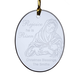 Personalized Rejoice Mary And Jesus Ornament, One Size