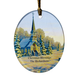 Personalized Reflections Of Winter's Eve Ornament, One Size