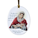 Personalized Mary And Jesus Ornament, One Size