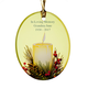 Personalized Candlelight Ornament, One Size