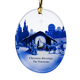 Personalized Reflections Of Christmas Ornament, One Size