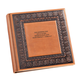Personalized Bellini Antique Style Leather Photo Album, One Size