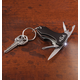 Personalized Multi Tool Key Chain With Safety Light, One Size