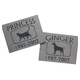 Personalized Slate Pet Memorial, One Size