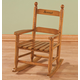 Personalized Childs Natural Rocker, One Size