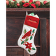 Personalized Cardinal Stocking, One Size