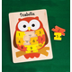 Personalized Owl Puzzle, One Size