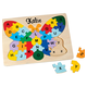 Personalized Butterfly Alphabet Puzzle, One Size