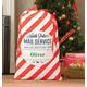 Personalized Santa Gift Sack, One Size