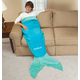 Blankie Tailstm Adult Aqua Mermaid Tail, One Size